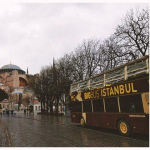 Buss i Istanbul